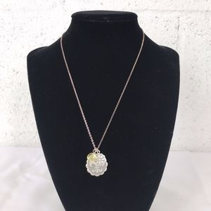 Silver Tone Chain with Charms NWT